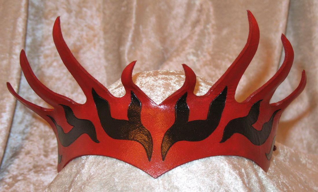 Spire Crown Flames - $60